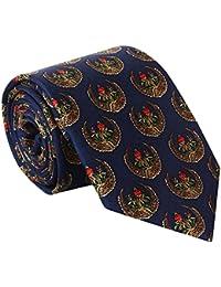 Rose Garden Print Silk Tie