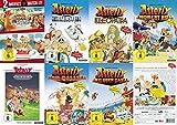 8x Asterix - Mega Collection - Der Gallier -& Kleopatra - erobert Rom - bei den Briten - Sieg über Cäsar - und die Wikinger - im Land der Götter - Hinkelstein 8 DVD Edition