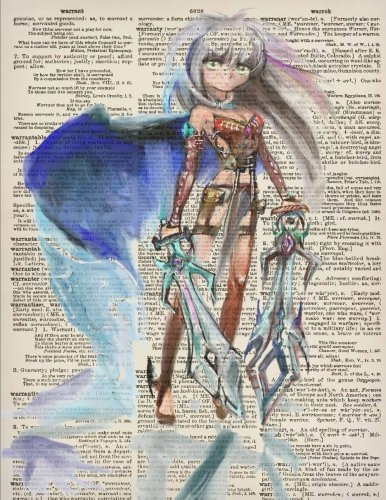 tebook with Anime Girl Warrior Princess Dictionary Art Cover for Adults and Kids (Blank Page Notebook 8.5 x 11 Inches): A Japanese ... Gifts for Anime, Comics, and Cosplay Fans) (Adult Cosplay Pics)