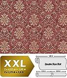 Barock Tapete EDEM 6001-94 Vliestapete geprägt mit Ornamenten glitzernd rot kupfer gold 10,65 m2