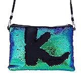 VJGOAL Damen Schultertasche, Damen Mädchen Mode Draussen Einfarbig Pailletten Handtasche Schultertasche Tote Damen Geldbörse