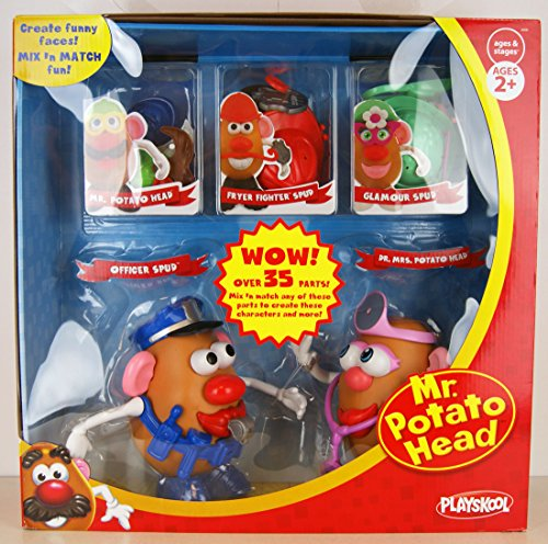 playskool-mr-potato-head-exclusive-set-officer-spud-dr-mrs-potato-head-mixn-match-uber-35-teile
