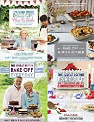 The Great British Bake Off Christmas Set: Includes Winter Kitchen, Everyday - Over 100 Foolproof Bakes, How to Bake, How to turn everyday bakes into showstoppers,