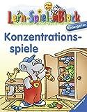 Konzentrationsspiele (Kindergarten) (Lern-Spiel-Block)