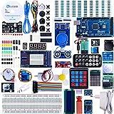 ELEGOO Mega2560 Starter Kit, Elegoo MEGA2560 Projekt Ultimate Starter Kit mit Deutschem Tutorial, MEGA2560 R3 Mikrocontroller und viel Elektronik Zubehöre