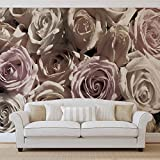 Rosen Blumen - Forwall - Fototapete - Tapete - Fotomural - Mural Wandbild - (1625WM) - XXL - 312cm x 219cm - VLIES (EasyInstall) - 3 Pieces