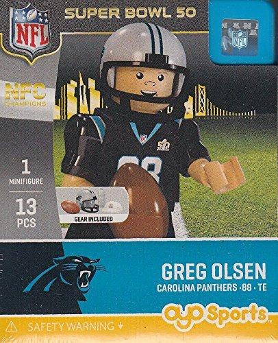 Greg Olsen NFL OYO Carolina Panthers Super Bowl 50 NFC Champions Mini Figure by OYO