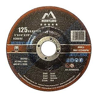 Merryland 125 X 6,0 Experten-line Schruppscheibe für Stahl Metall 10 Stück