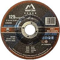 Merryland 125 X 6,0 Experto-line Disco de Desbaste para Acero Metal 10PCS