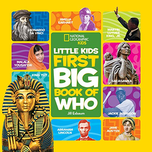 National Geographic Little Kids First Big Book of Who (National Geographic Little Kids First Big Books) (English Edition)
