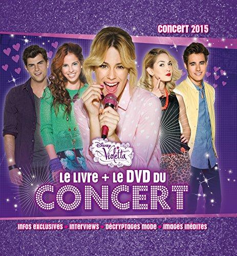 Violetta : Le livre + le DVD du concert (1DVD) por Hachette Jeunesse