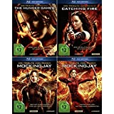 Die Tribute von Panem 1 + 2 + 3 | Hunger Games | Catching Fire | Mockingjay 1 + 2 |