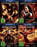 Die Tribute von Panem 1 + 2 + 3 Fan Edition | Hunger Games | Catching Fire | Mockingjay 1 + 2 | Inklusive Spotttölpel Pin [Alle 4 Filme]