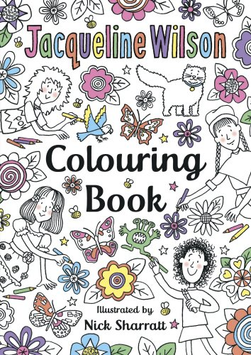 (The Jacqueline Wilson Colouring Book)