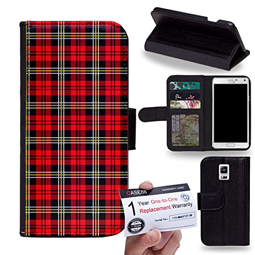 case88-samsung-galaxy-note-4-flip-case-with-stand-credit-card-holder-magnetic-closure-stewart-patter