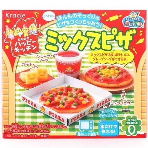 Happy Kitchen Mini Pizza Kracie Popin title=