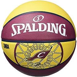 Spalding Cleveland Cavaliers - Pelota de baloncesto, color multicolor, talla 5