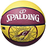 Spalding Cleveland Cavaliers Team Ball - Multi-Colour, Size 5