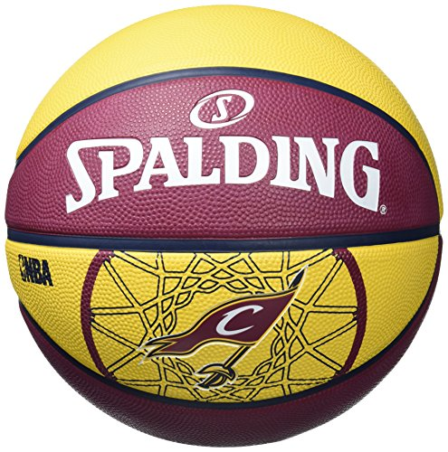 Spalding, palla da basket team cavaliers, arancione (orange), 7