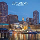 Boston 2019 - 18-Monatskalender mit freier TravelDays-App: Original BrownTrout-Kalender