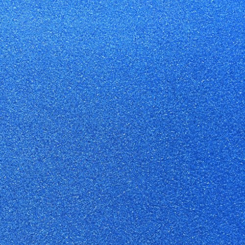 10 Blatt Glitzer Papier Glänzend Bastelpapier A4 Farbiges Tonpapier Sortiert Glitzer Karte Glitterkarton Patchwork Bling-Bling Karton für DIY Handwerk Scrapbooking blau Silber-glitzer-papier-karton