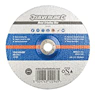 Silverline 261268 Metallschleifscheibe mit OSA-Zertifizierung 230 x 6 x 22,23 mm