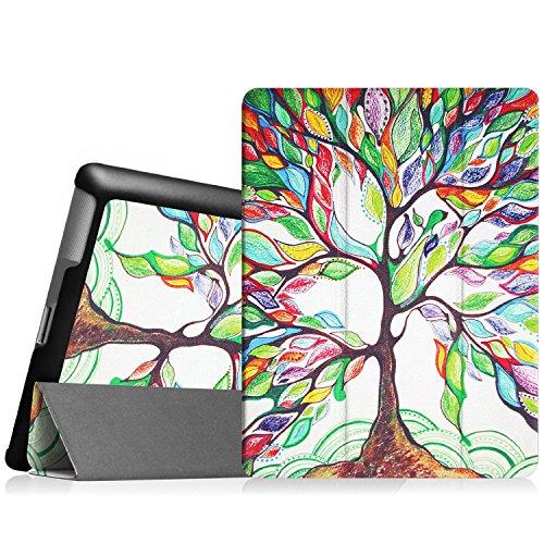 Fintie Apple iPad 2/3/4 Hülle Case - Ultradünne Superleicht Schutzhülle SlimShell Cover Tasche Etui mit Auto Schlaf/Wach und Standfunktion für Apple iPad 2 / iPad 3 / iPad 4 Retina, Liebesbaum