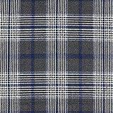 Fabulous Fabrics Anzugstoff Glencheck - anthrazit/Navy -