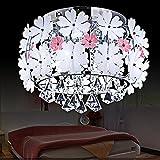 Deckenlampe Schlafzimmer LED Rund Mädchen Prinzessin Kinder Schlafzimmerlampe Modern Leuchten Jugendzimmer Jungen Weiß Deckenleuchte Schlafzimmer Dimmbar Fernbedienung D45*H32CM [Energieklasse A++]