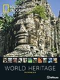 World Heritage 2018 - National Geographic Posterkalender, Fotokalender, Naturkalender 2018  -  48 x 64 cm