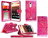 New Leather Flip Wallet Phone Case Cover For Alcatel A3