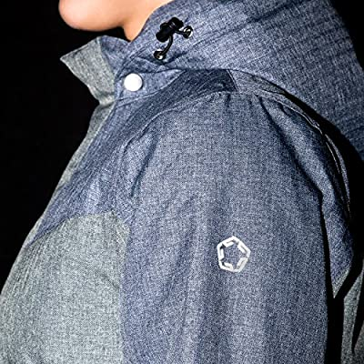 Gregster Damen Winterjacke | Funktionelle Damenjacke mit doppelter Fronttasche | Skijacke mit abnehmbarer Kapuze ist wind- und wasserabweisend | Steppjacke