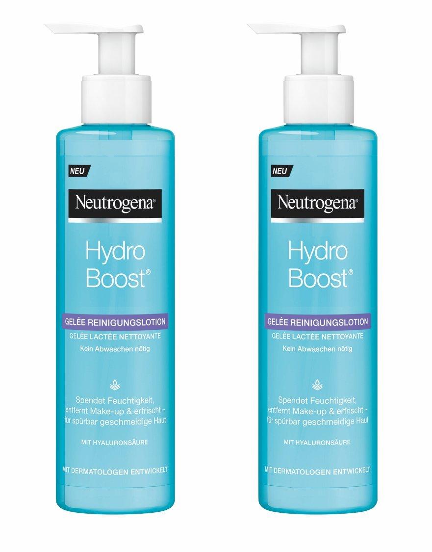 Neutrogena Hydro Boost Gel Limpiador – 2 Unidades x 200 ml.