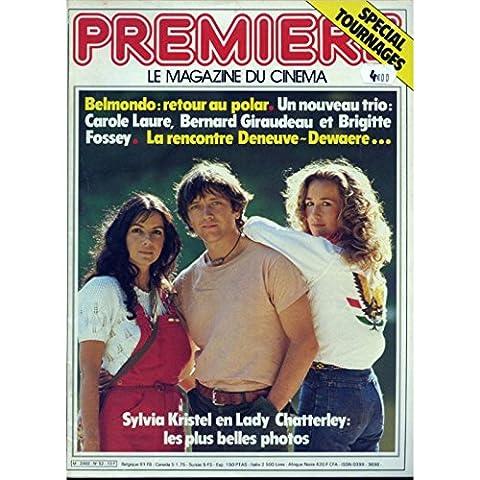 PREMIERE N°52 Magazine - 1981 - Bernard