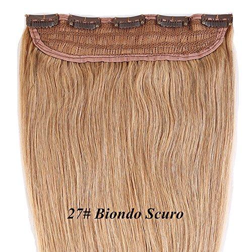 45cm-55cm-clip-extension-capelli-veri-one-piece-5-clips-vari-colori-stili-parrucca-donna-biondo-27