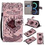 Slynmax Samsung Galaxy S8 Handyhülle Flip Case Tasche Schutzhülle PU Leder Brieftasche Lederhülle Ständer Kartenfächer Magnetverschluss Handytasche