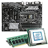 Intel Core i5-6600K / ASUS PRIME Z270-P Mainboard Bundle / 16384 MB   CSL PC Aufrüstkit   Intel Core i5-6600K 4x 3500 MHz, 16 GB, Intel HD Graphics 530, GigLAN, 7.1 Sound, USB 3.1   Aufrüstset   PC Tuning