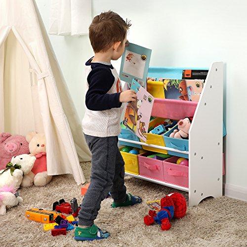 Zoom IMG-2 songmics scaffale per giocattoli mobiletto