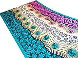 Priya Lifestyle Women's New Fancy Printed Saree in Jacquard Fabric