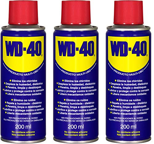 WD-40 - Lubricante Multiusos WD40 200ml - Pack 3 unidades
