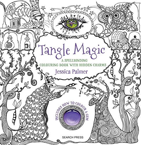 Tangle Magic: A spellbinding colouring book with hidden charms (Colouring Books)