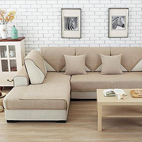 New day-Four Seasons universale cuscino del divano semplice moderna Shallow caffè Mesh cuscino del divano , 70*210cm