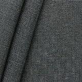 Polsterstoff Möbelstoff Stoff Meterware Dunkel-Grau