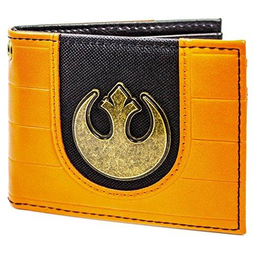 Cartera de Star Wars Rebel Alliance Logo Naranja