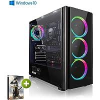 PC-Gaming AMD Ryzen 7 2700X 8x 4.30GHz Turbo • nvidia GeForce RTX2060 6GB • 1000GB HDD • 240GB SSD • 16GB DDR4 2400 • WLAN • Windows 10 Home