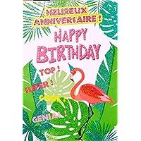 Amazon Fr Flamant Rose Cartes Et Papier Cartonne Papeterie