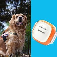 Osmewy GT011 - Localizzatore GPS per cani, gatti di grandi dimensioni, con collare per la ricerca della luce Geo…