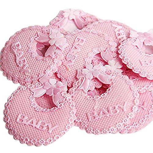 C.X.Y. - Baberos decorativos con lazo, para bomboneras de nacimiento ...