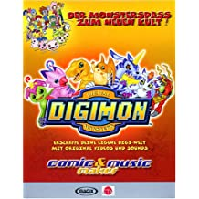 Digimon Comic und Music Maker. CD- ROM für Windows 95/98/2000/ ME/ NT
