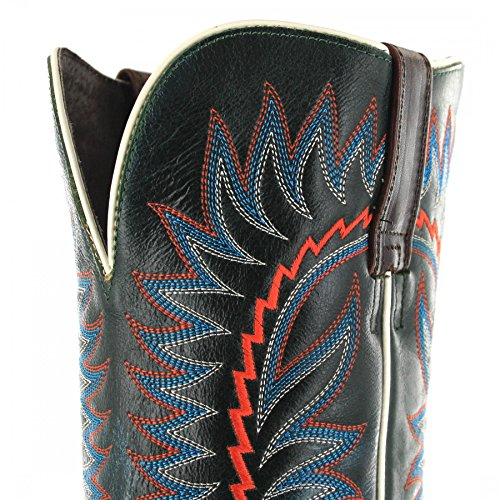 Ariat Relentless Elite 21671 Cognac Sapphire/Herren Westernreitstiefel Braun Blau/Reitstiefel/Westernstiefel Texaco & Red